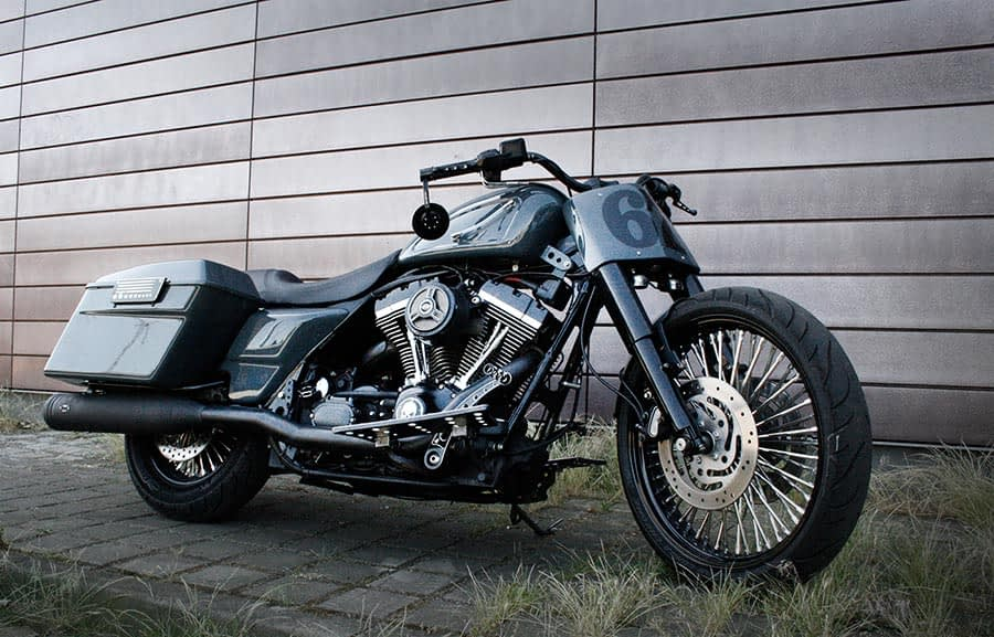 Harley-Davidson Roadking - Streetglide Seitenansicht