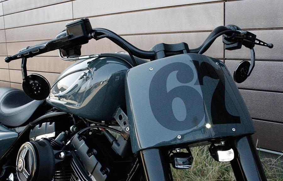 Harley-Davidson Roadking - Streetglide mit Frontmaske