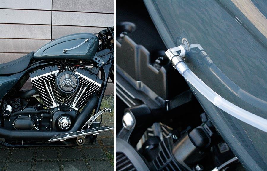 Harley-Davidson Roadking - Streetglide mit Sportster Tank