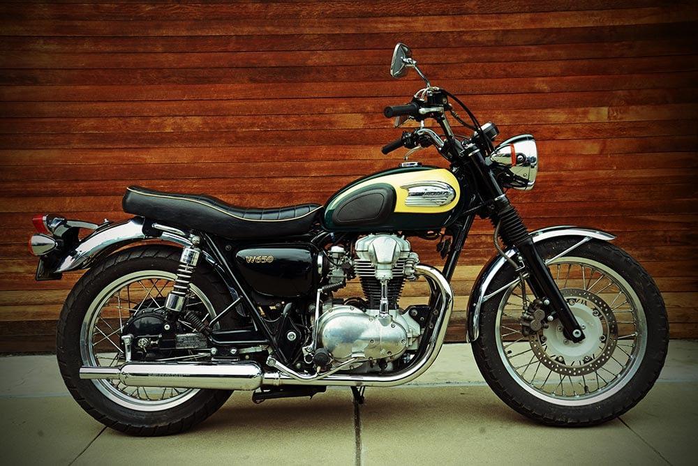 Bild eines Motorrades: Kawasaki W650