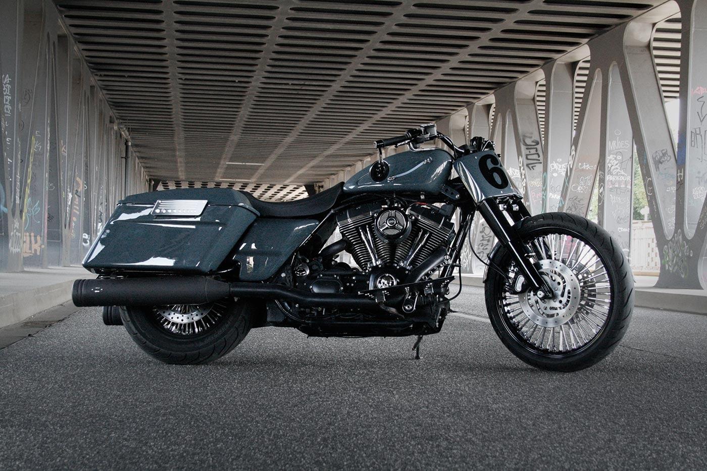 Harley-Davidson Roadking - Streetglide Dunkelgrau