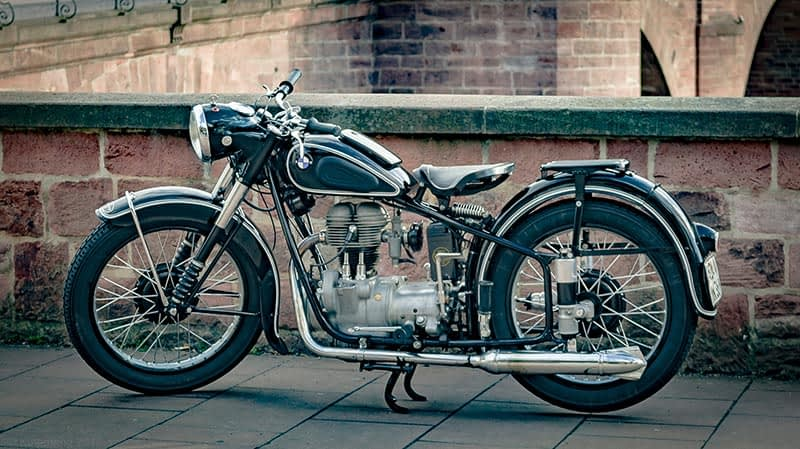 BMW Ibbenbüren Motorrad Oldtimer