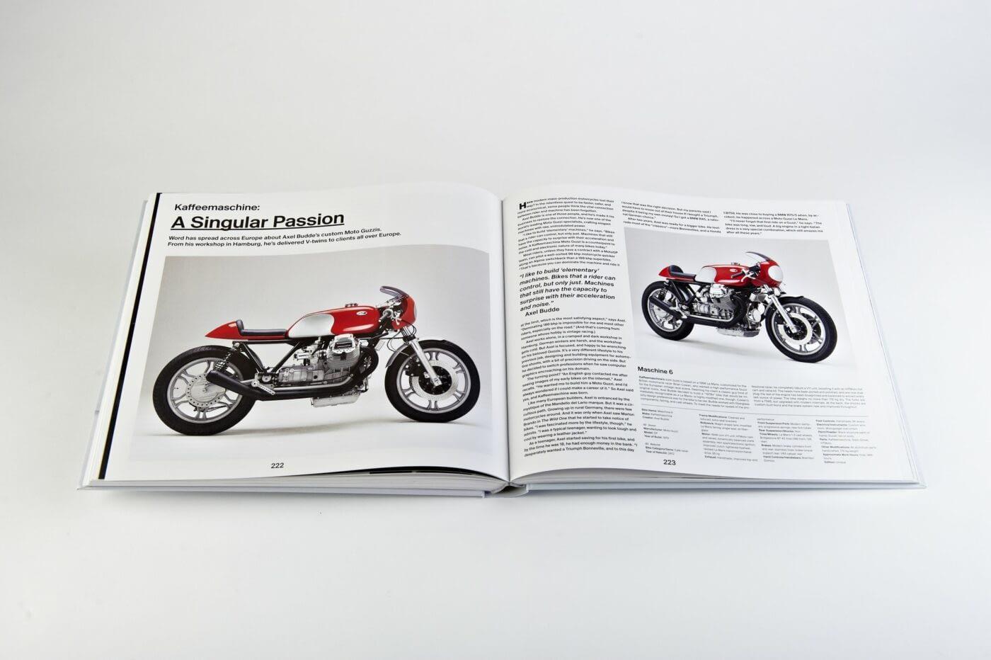The Ride Book - Custom Motorräder Inspiration, Ibbenbüren